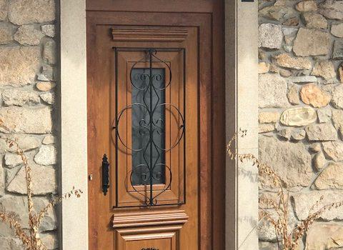 Puerta PVC embero - Panel decorativo Antiga (2)