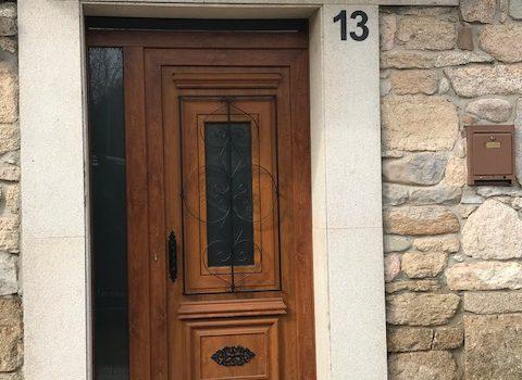 Puerta PVC embero - Panel decorativo Antiga